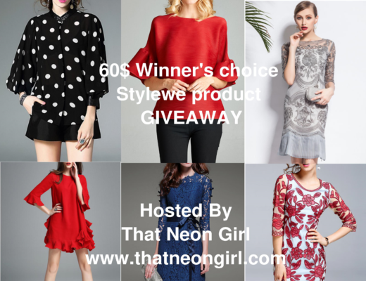 That Neon Girl Stylewe Designers at your fingertips giveaway