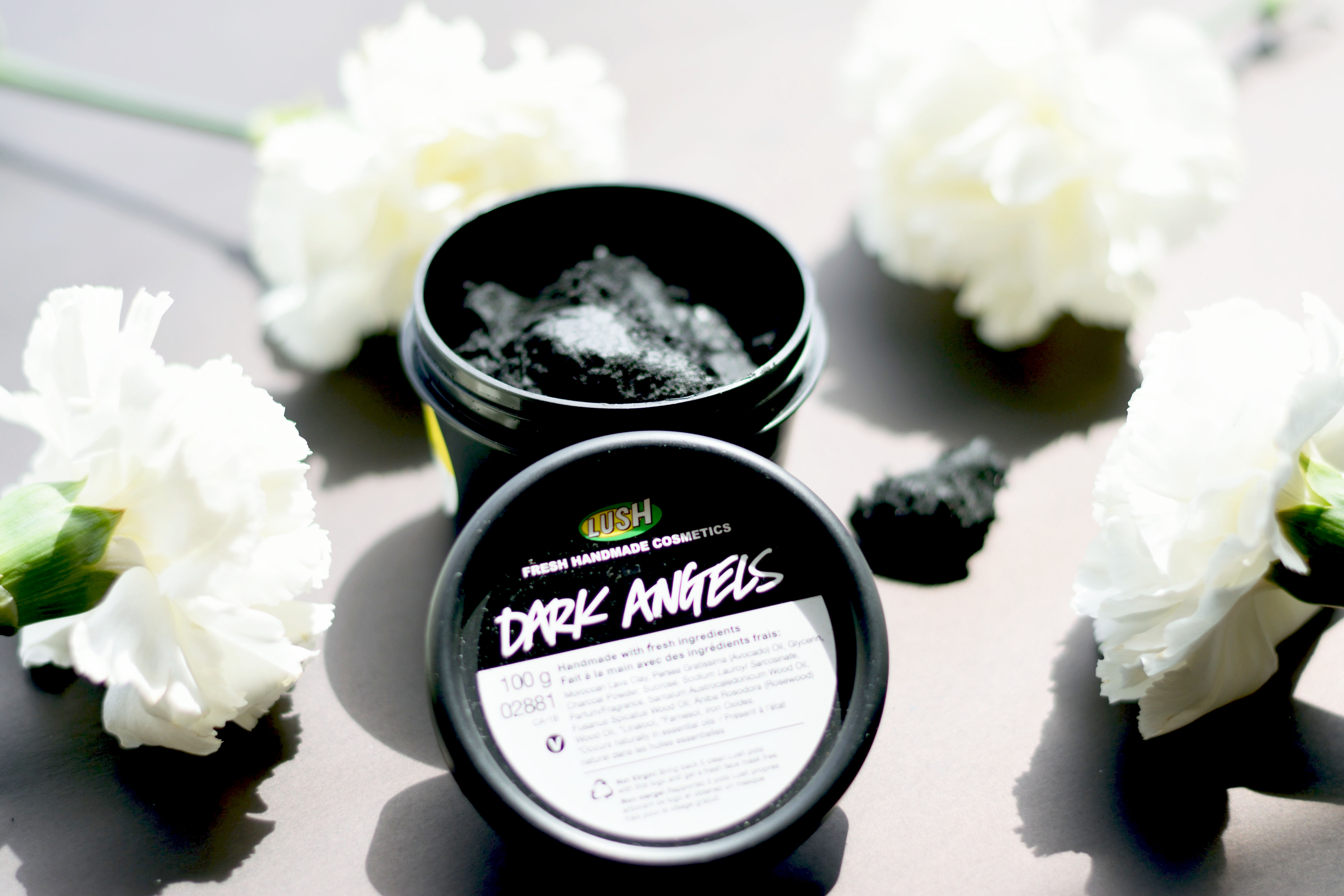 Lush Dark Angels review - The power of Charcoal