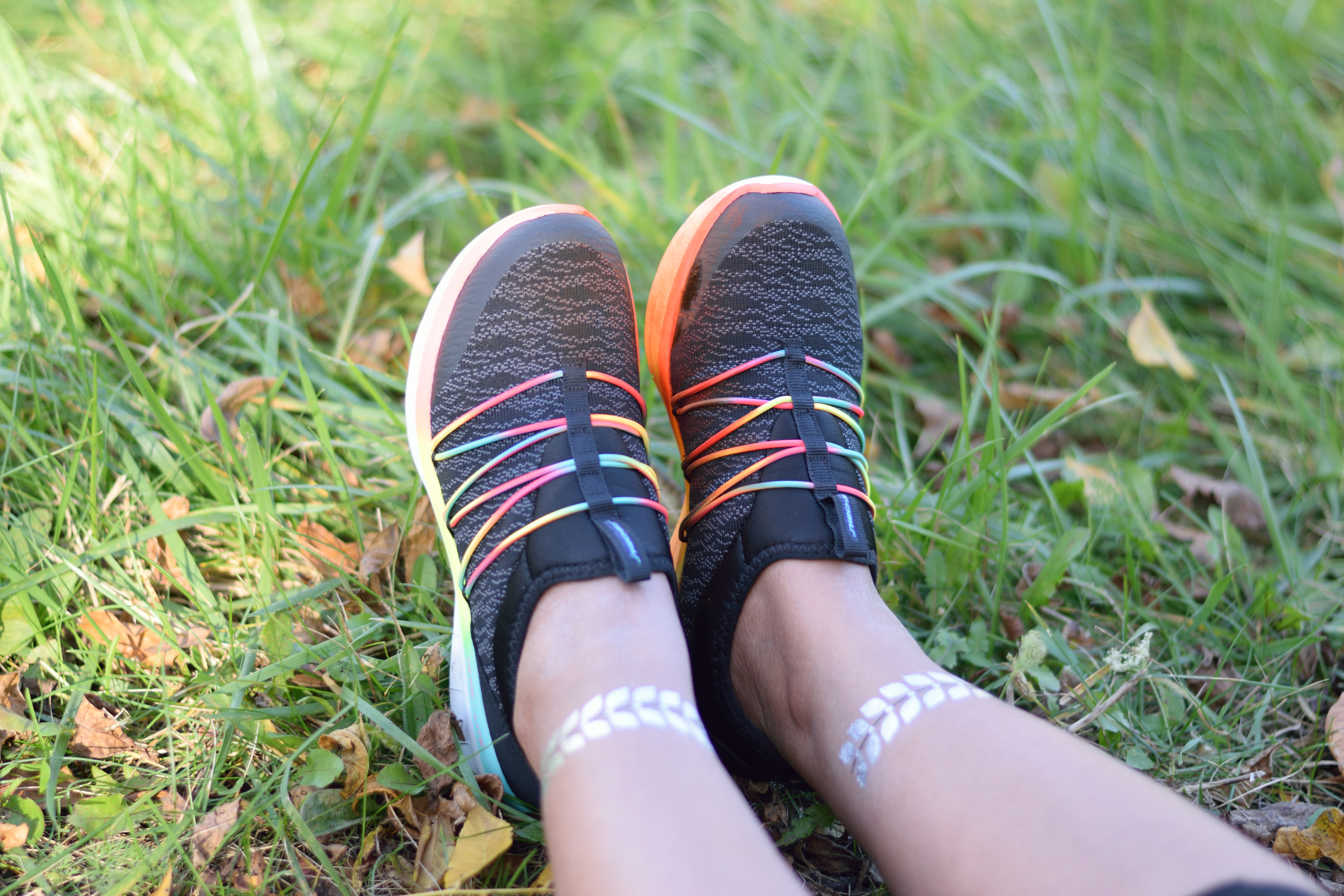 Run with style with shoes from Skechers